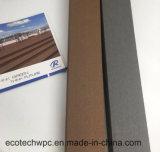Vert et écologique à l'extérieur WPC Clôture avec FSC, ISO, la certification CE