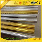 Polished серебряный золотистый алюминиевый круглый трубопровод для поручня балкона