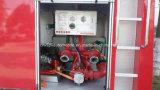 A água de Dongfeng 4X2 extingue o caminhão do motor de incêndio com guindaste do salvamento