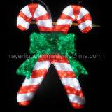 Decoração exterior ou interna de pouca luz do motivo do boneco de neve do tamanho do Natal