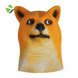 precio de fábrica Doge Meme Kabosu Máscara de látex de cara tocados tal perro Shiba Halloween Cosplay