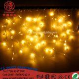 Vorhang-Eiszapfen des LED-Beleuchtung-des Weihnachten3.5m Herabsinken-0.3-0.5m LED für Hochzeitsfest