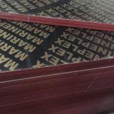 La película Shuttering de /Combi/Hardwood del encofrado de /Marine/WBP/Concrete hizo frente a la madera contrachapada