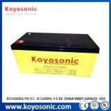 La meilleure batterie de la batterie 12V de cellules de gel pour le pouvoir roule 12V 80ah