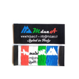 Professional etiqueta tejida tejido Producto personalizado para la ropa al por mayor en los Estados Unidos preciosa