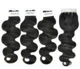 Индийский органа Виргинских необработанной заготовки для волос Salon (Категория 9A)