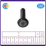 DIN/ANSI/BS/JIS Stainless-Steel Carbon-Steel/part Twist ronde plate trois vis de soudure pour la construction