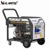 Tipo de frame aberto refrigerado a ar gerador Diesel do único cilindro (DG11000E)