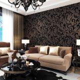 Papel de empapelar, Wallcovering, decoración de la pared, tela de la pared del PVC, hoja del suelo del PVC, papel pintado de la piel de ciervo del PVC de la piel de ciervo 3D