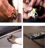 20 В 1 из нержавеющей стали с плоским лезвием ключ цепочки ключей EDC карманный инструмент