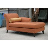 Personalizar la moderna chaise lounge, con madera maciza de las piernas (CM128)