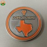 둥근 주문을 받아서 만들어진 디자인 Bitcoin 기념품 동전
