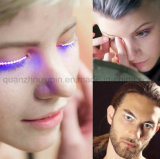 OEM 최신 판매 번쩍이는 다채로운 LED 가짜 속눈썹 속눈섭