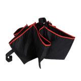 حارّ 21 بوصات دليل استخدام مفتوح ختام 3 يطوي مظلة مع حالة أحمر يكسى