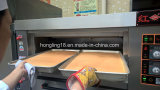 Horno de panadería del gas de la bandeja de la cubierta 2 del profesional 1 de la fábrica verdadera
