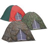 Foldable 위장 자동적인 돔 야영 천막이 옥외 3 사람에 의하여 갑자기 나타난다