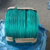 Fil de fer galvanisé par électro enduit par PVC dans la couleur différente