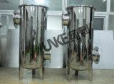 Chunke 60-300m3/H de la bolsa de la caja del filtro de acero inoxidable