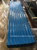 Оцинкованный лист крыши/ заводе пользовательские цвета оцинкованного листа крыши с 665K. мм