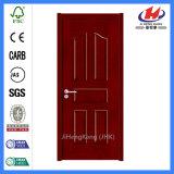 形成された内部の証明書の黒いクルミのベニヤのドア(JHK-005)