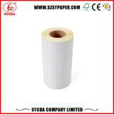 Papel de escritura de la etiqueta auto-adhesivo termal impermeable