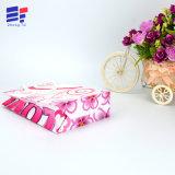 Bolso del regalo del papel de arte del diseño de Custon para la flor de empaquetado