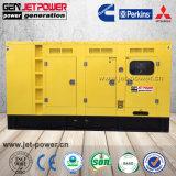 Dossan 디젤 엔진 침묵하는 발전기 180kw 225 kVA 발전기 가격