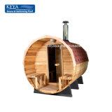 Sauna canadese del cedro rosso di sauna meravigliosa del barilotto per la famiglia