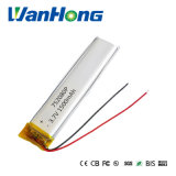 batteria ricaricabile di 3.7V 1500mAh 752080li-Po DIY