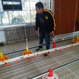 Ec Chicken Poultry Farming Equipment with Plastic Slat Floor for Broilers