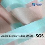 100% полиэстер, полосатый Organza Yarn-Dyed бамбук для женщин платья, тканого ткань
