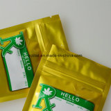 顧客プリント米のポリ袋はジッパーの上が付いている袋を立てる