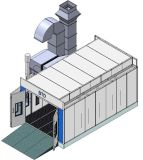Auto-Spray-Lack-Kabinen für Farbanstrich-Auto-Beschichtung-Maschine