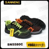 ファブリック甲革が付いているスポーツの安全靴