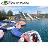 Раздувной плавая парк воды, раздувной парк атракционов воды для игр воды