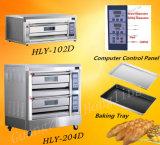 Печь газа подноса машинного оборудования хлеба оптовых продаж коммерчески двойная для выпечки