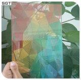 Het lage Glas van Splashback van het Glas van de Gordijngevel van de Druk van het Ijzer Digitale Decoratieve