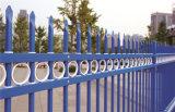 Clôture en acier galvanisée résidentielle de jardin de garantie décorative élégante