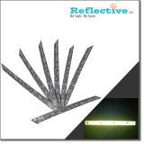 PVC reflectante bofetada Wrap, Brazalete de seguridad reflectante, Envoltura de Slap