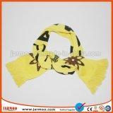 Изготовленный на заказ шарф полиэфира с печатание цифров
