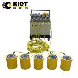 Cylindre hydraulique de double tonnage élevé temporaire de série de Clrg de marque de Kiet
