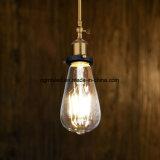 Luz baja del filamento de la llama de la lámpara de los bulbos E12 de los candelabros LED