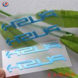 Custom Logo 3D de silicona caucho de la transferencia de calor en vinilo para etiqueta prendas de vestir
