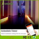 2 Meter Tuya intelligente WiFi LED der Streifen-Licht-30W Arbeits-mit des Amazonas-Alexa intelligentem Streifen-Licht Telefon-Steuerled