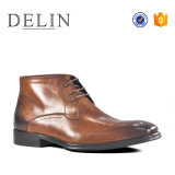 Heiße Mann-lederne Aufladungs-formale Schuh-Form