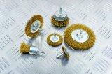 """spazzola circolare della rotella del filo di acciaio dei 4 """" (di 100mm) accessori degli attrezzi a motore con la tibia"""