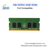 Os componentes do computador portátil da China de 4 GB de RAM DDR4
