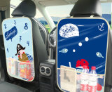 Легко мыть машину водонепроницаемым заднее сиденье организатор ПВХ, Kick коврик