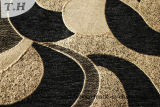 Tela negra de la cubierta del sofá del Chenille de la venta 2016 calientes