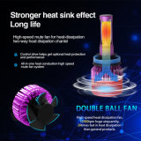 8000lm 고속 냉각팬 최고 밝은 헤드라이트 LED H4